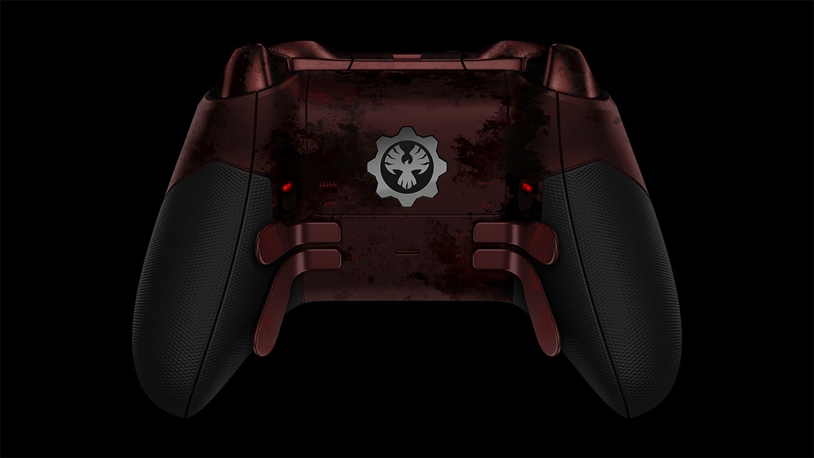 Controller back