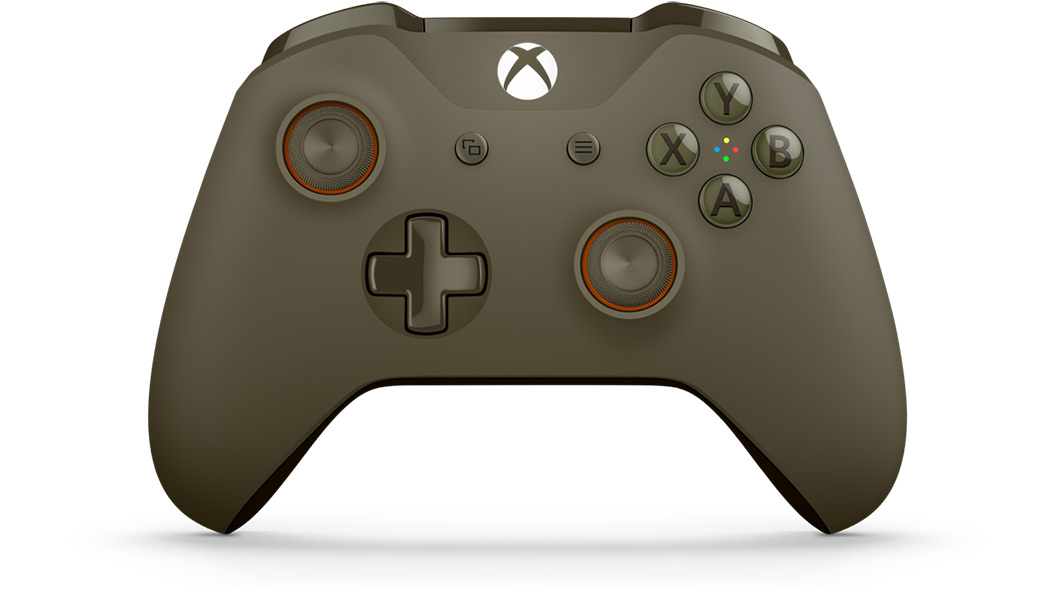 Front view of Green Orange Controller