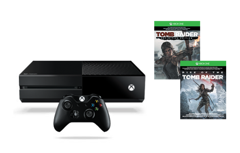 Xbox One Rise of the Tomb Raider 번들