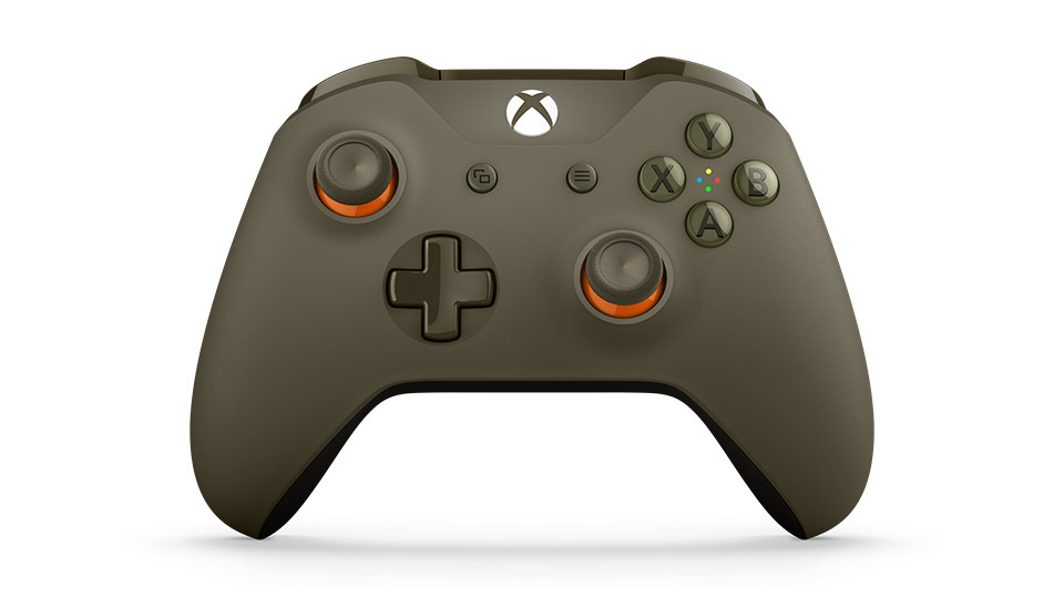 Front side of Controller with front tilt