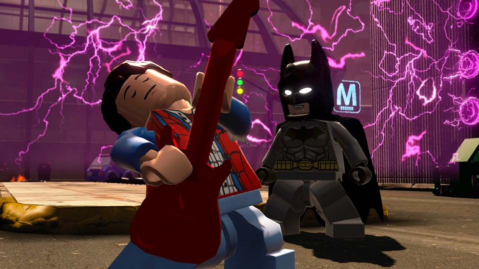 Play Superman and Batman on LEGO Dimensions for Xbox One