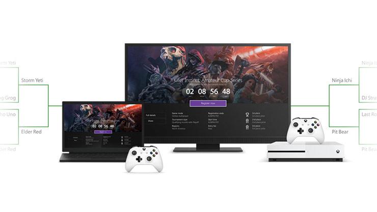 Xbox-sovelluksen verkkoturnaukset