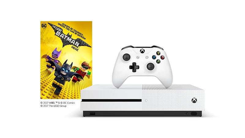 LEGO batman Xbox One S soft bundle