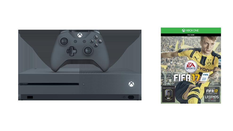 Xbox One S FIFA 17 SE grey bundle