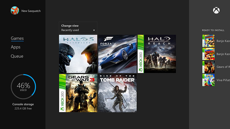 Easily play Xbox 360 games on your Xbox One