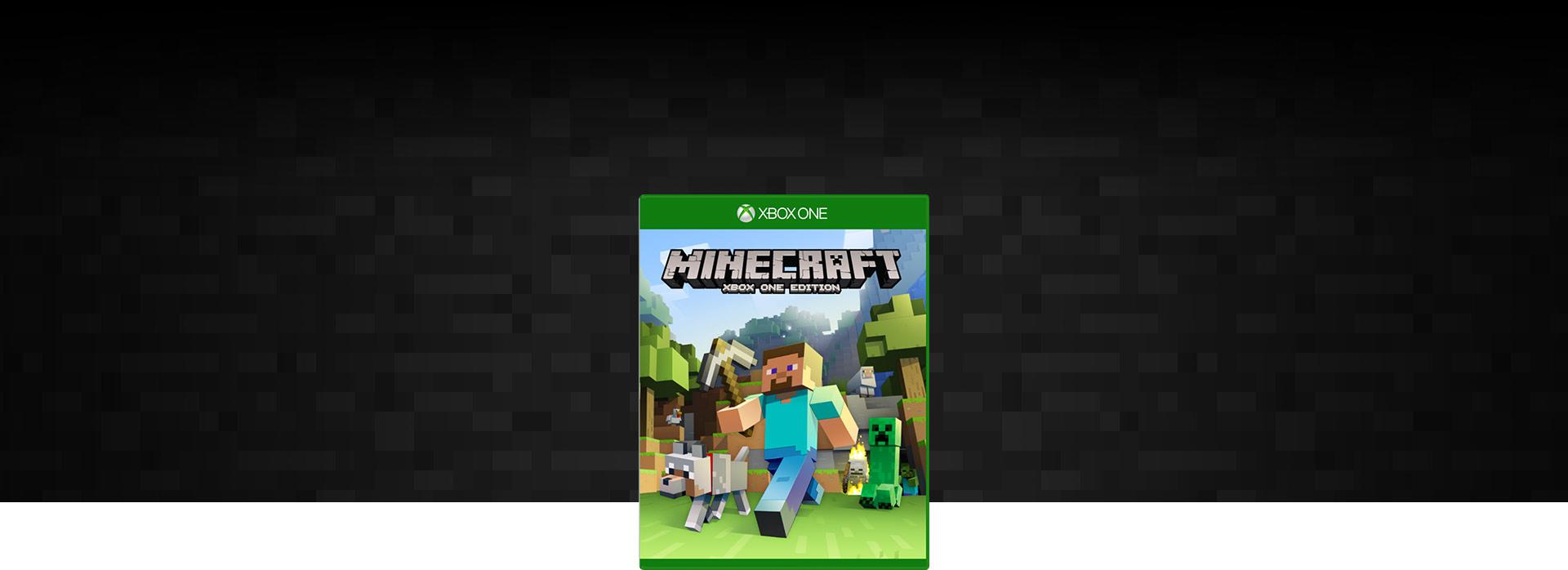 Minecraft, bild på förpackning