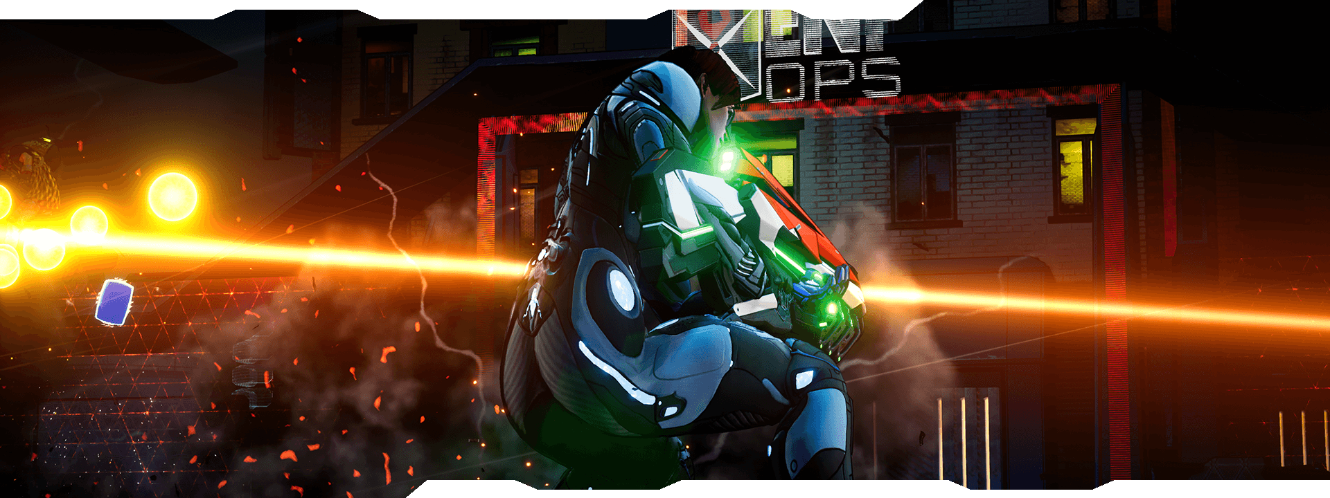 Crackdown 3 Dangerous open-world playground