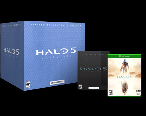 Halo 5: Guardians Limited Editions