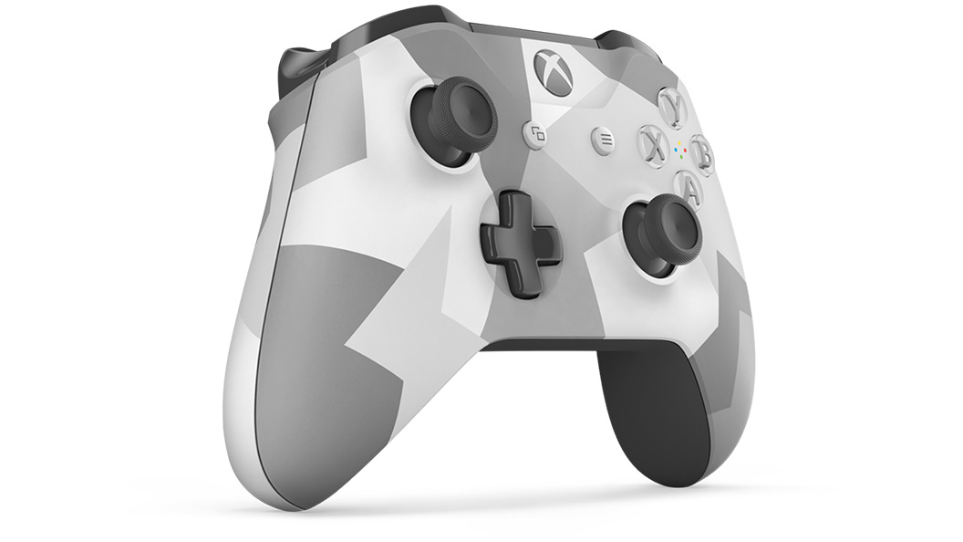 Right angle view of Winter Forces Controller