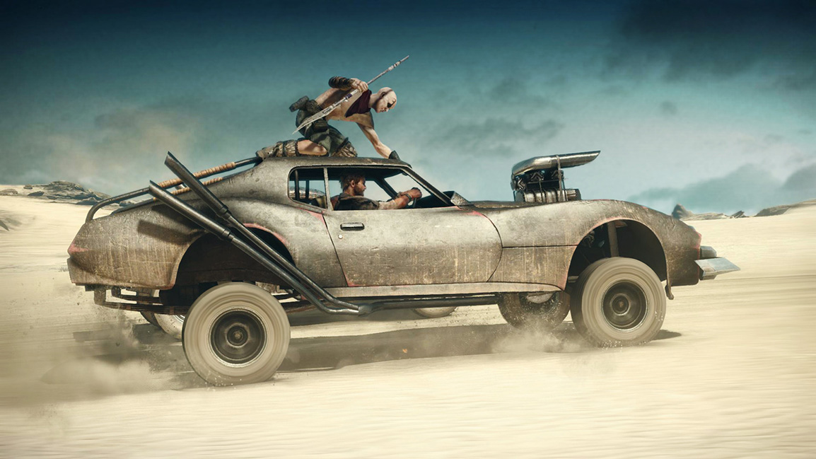Mad Max Vehicular Warefare