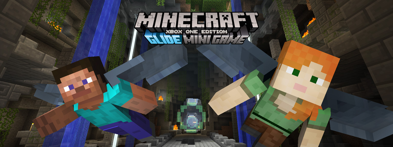 Minecraft Glide Mini Game