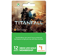 TitanfallLiveGoldSubscription12mthplus1