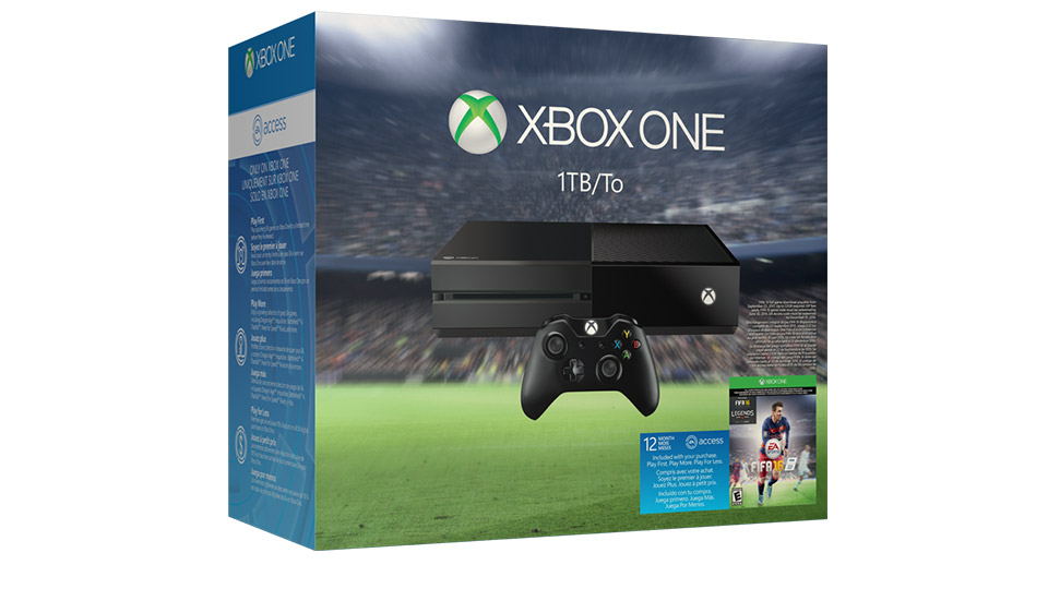 Xbox One EA Sports™ FIFA 16 1TB Bundle