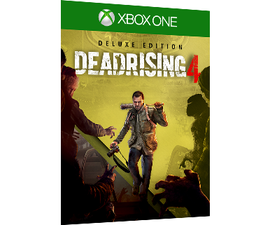 DEAD RISING 4 DIGITAL DELUXE EDITION BOX ART