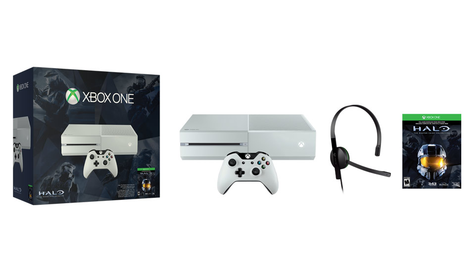 Xbox One Special Edition Halo The Master Chief Collection Bundle contents