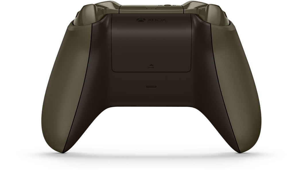 Back view of Green Orange Controller