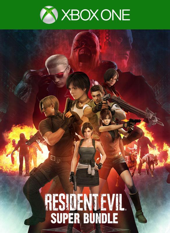 Resident Evil Super Bundle (REHD, Zero, 4,5,6)