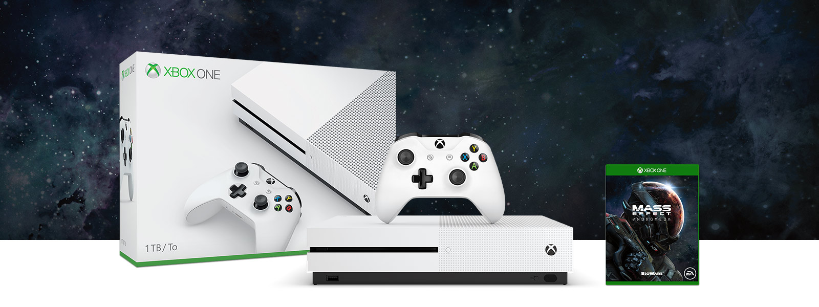Xbox One S plus two additional games