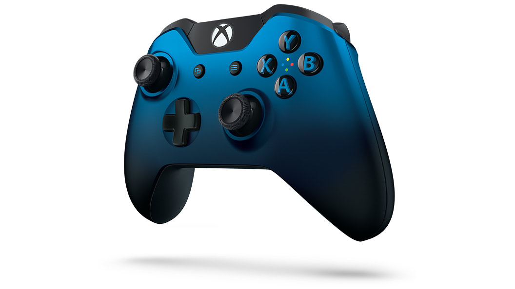 Xbox Dusk Shadow Controller left angle view