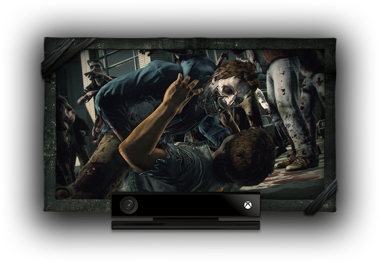 Dead Rising 3 zombie attack close-up screenshot