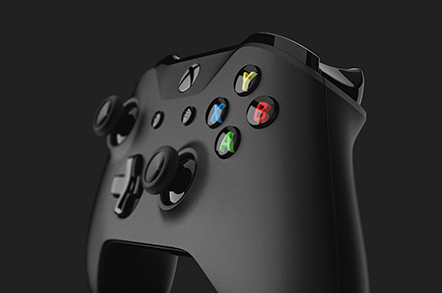 click to expand xbox controller front view image