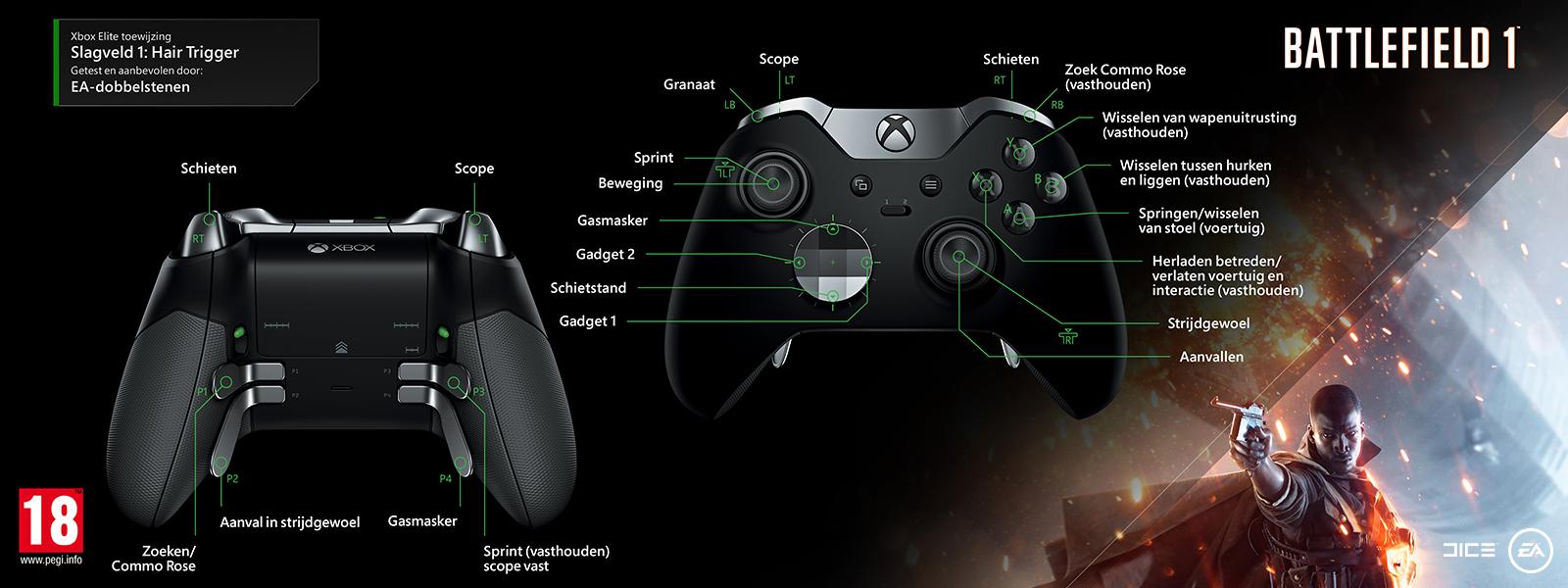 Battlefield 1 - Hair Trigger-mapping