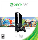 Xbox 360 4GB Console box shot front