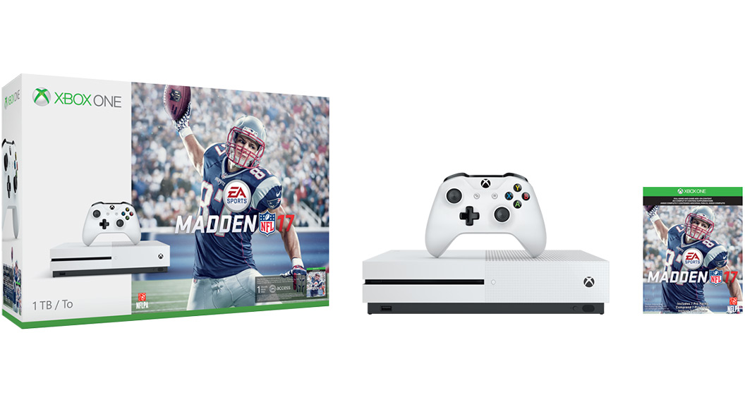 Xbox One S Madden 17 Bundle