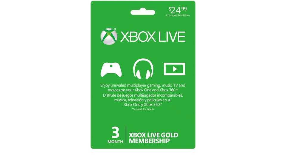 Xbox Live 3 Month Gold Membership | Xbox