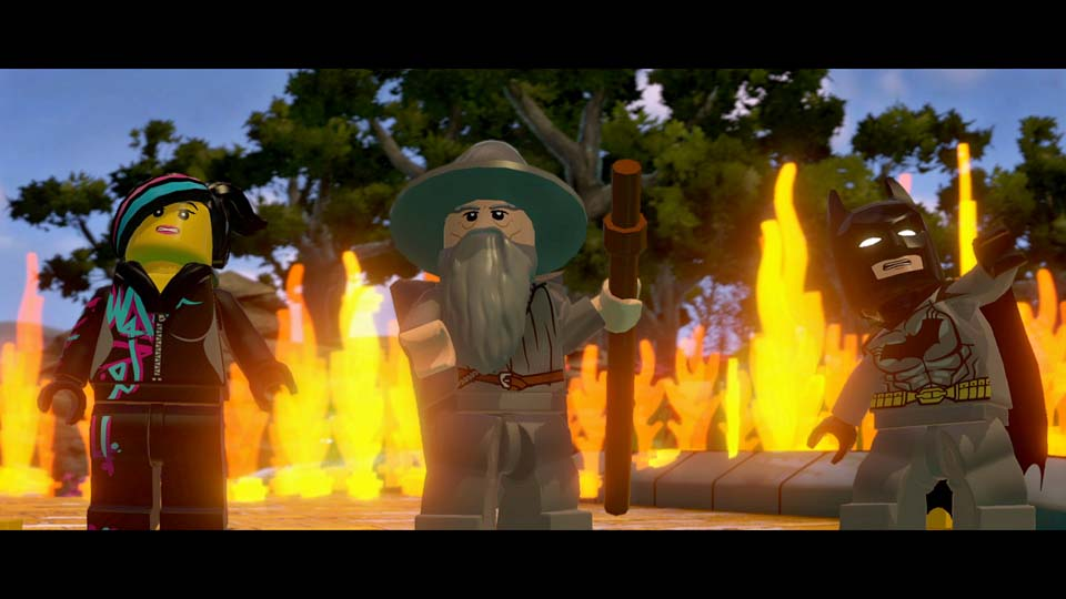 LEGO Dimensions for Xbox One includes Wyldestyle, Gandalf, and Batman