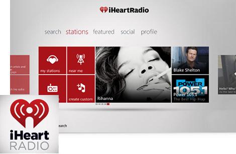 iHeartRadio Xbox 360 app
