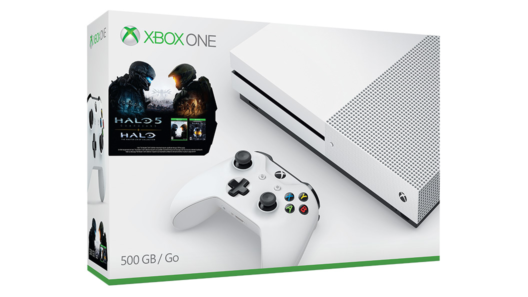 Boxshot of Xbox One S Halo Collection Bundle
