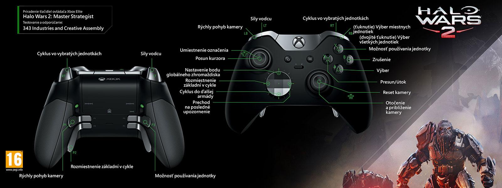 Vylepšenie strategických možností v hre Halo Wars 2