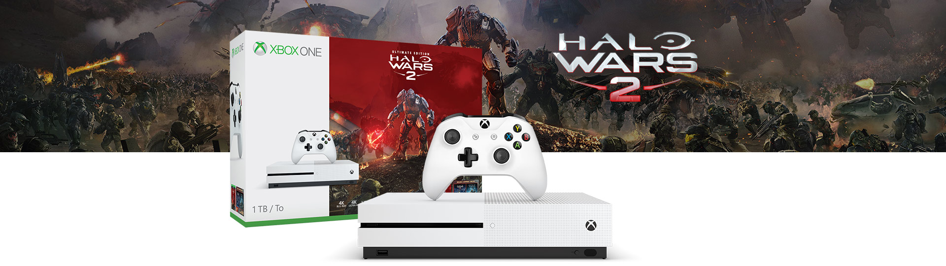 Xbox One S Halo Wars 2 bundle
