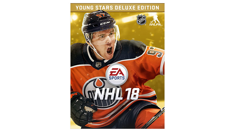 NHL 18 Young Stars deluxe edition box shot