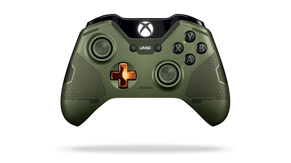 Xbox One Limited Edition Halo 5: Guardians-the Master Chief Wireless Controller