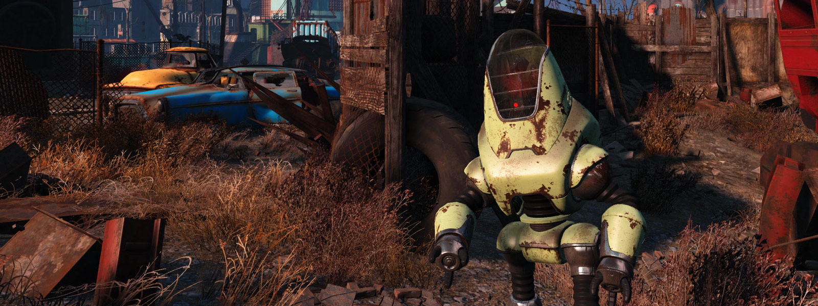 Fallout 4 bot in the Wasteland