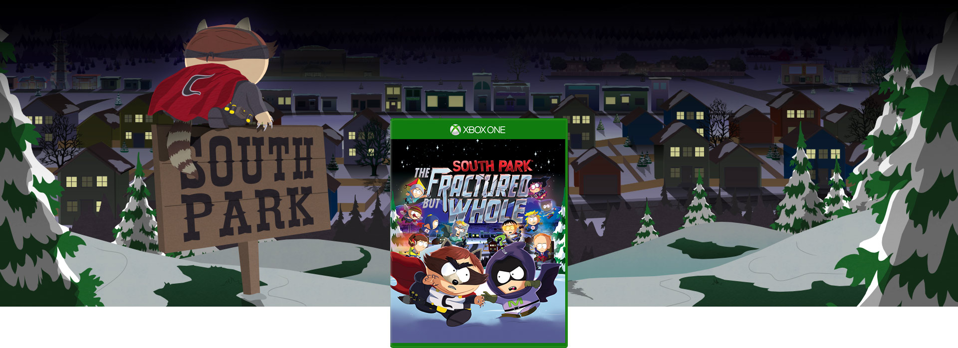 A South Park Fractured but Whole dobozának képe