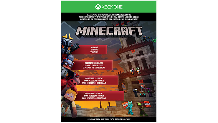 pack xbox one s 1tb minecraft edici n limitada. Black Bedroom Furniture Sets. Home Design Ideas