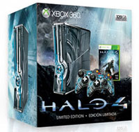 Xbox 360 320GB Limited Edition Halo 4 Console