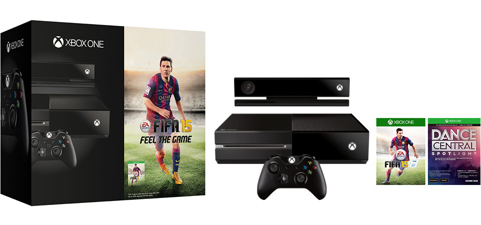 Xbox One with FIFA 15 and Dance Central Spotlight