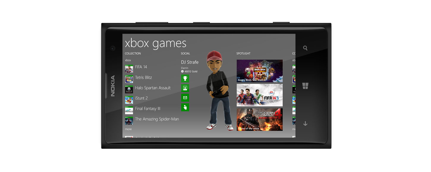 Windows Phone-games