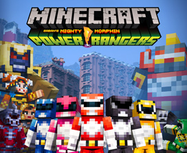 Pack de skins Power Rangers