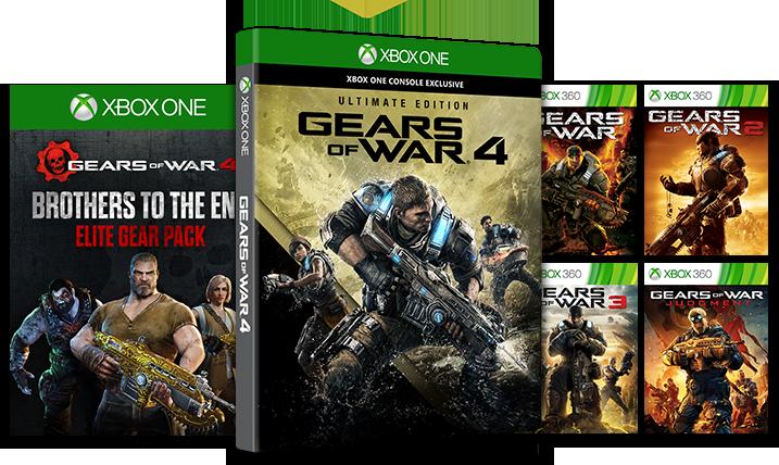 Pre Order Gears of War 4