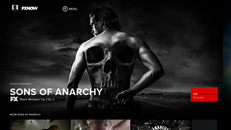 Sons of Anarchy on FXNOW