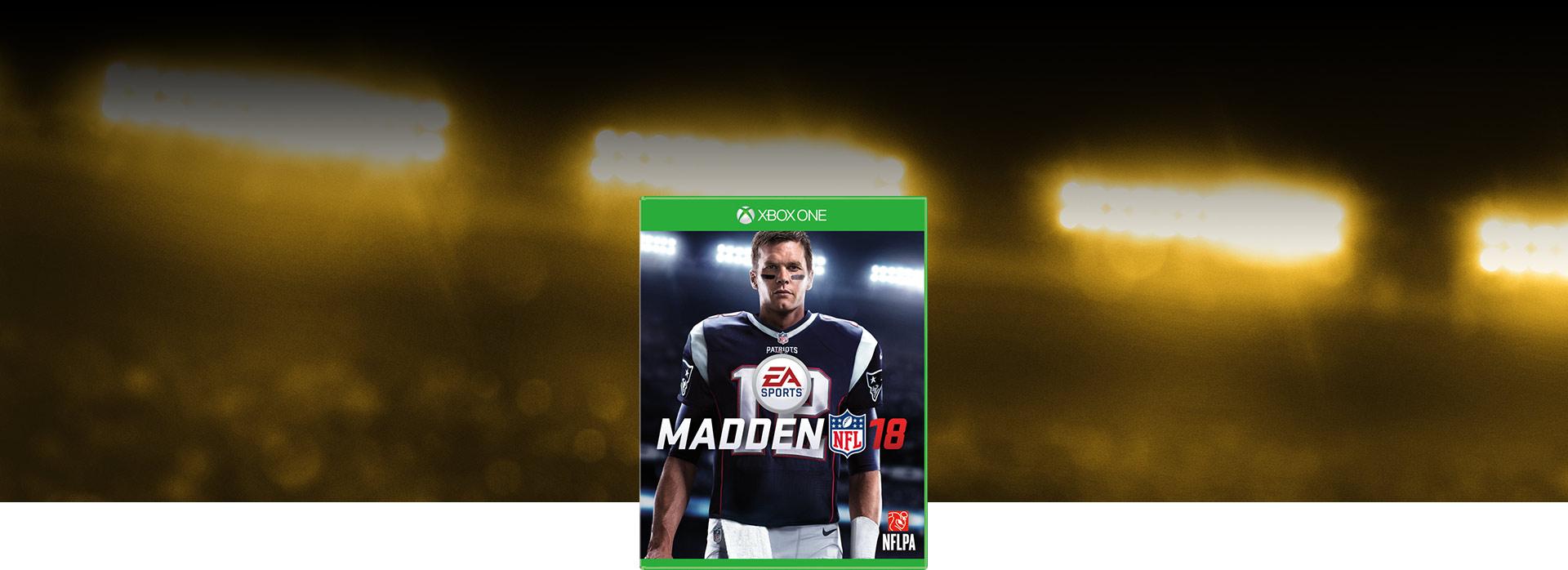 Imagen de la caja del juego de Madden NFL18