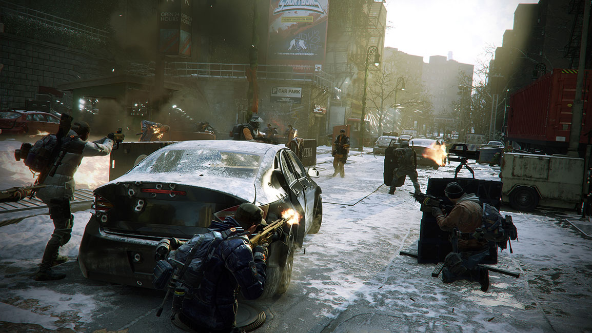 《Tom Clancy's The Division》– 街頭交鋒