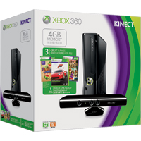 Xbox 360 Kinect 4GB Spring Bundle