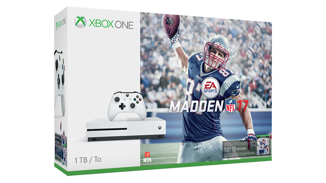Boxshot of Xbox One S Madden 17 Bundle