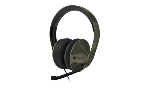 Xbox One Special Edition Green Camouflage Stereo Headset